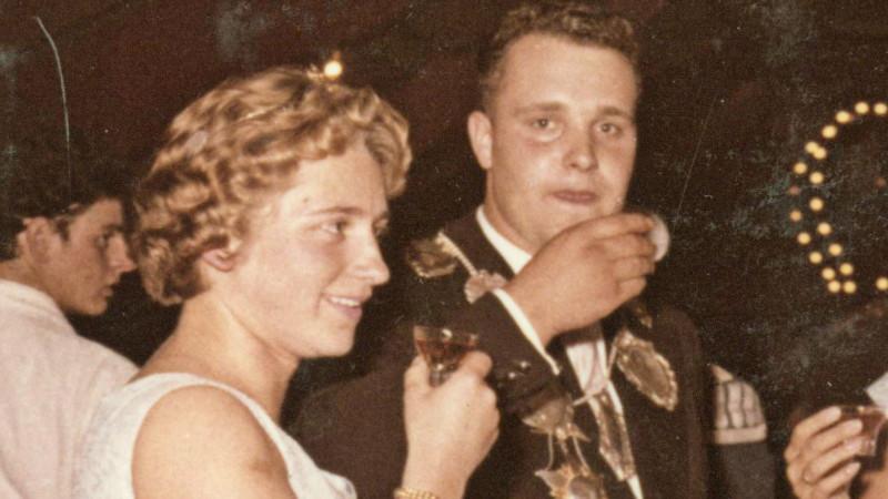 1958 Josef Mentzen (Stammkorps) und Liesel Mentzen